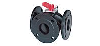 3-х и 4-х поворотные клапаны с роторными приводами VBF21, VBG31, VBI31, VCI31